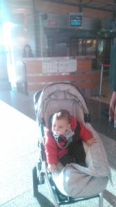Boarding in Madrid
