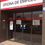Unemployment office Spain