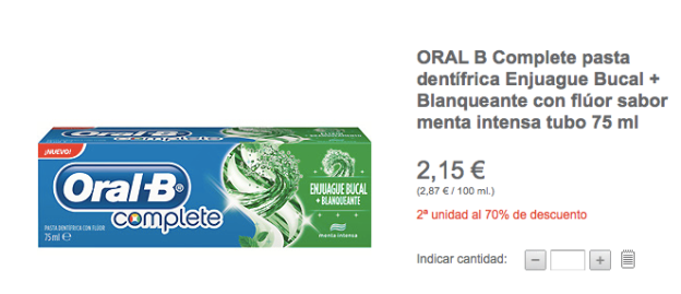 Toothpaste incident El Corte Ingles