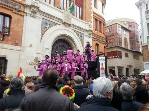 Carnaval singers