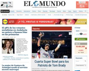 SuperBowl 2015 Win Spain news