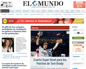 SuperBowl 2015 Win Spain news