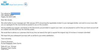 KLM email