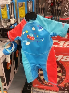 Decathlon baby swimsuit