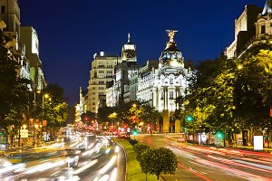 Madrid Gran Via picture