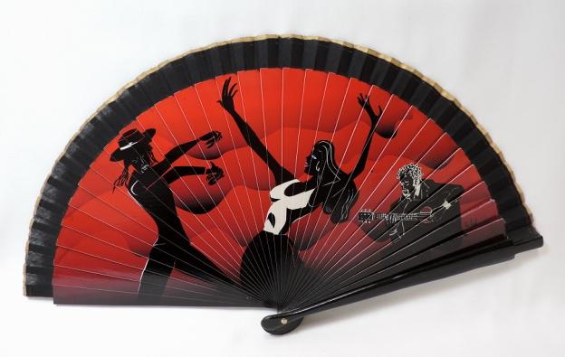 Spanish hand fan
