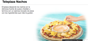 Telepizza Nacho Pizza