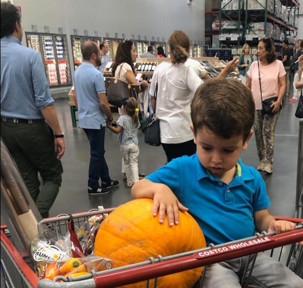 pumpkin size