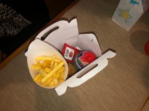 Happy meal - finished product